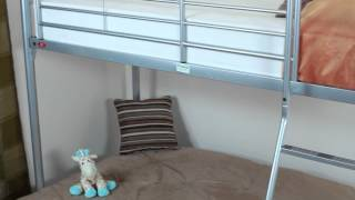 Troy Bunk Bed And Double Sofa Bed - Sweet Dreams