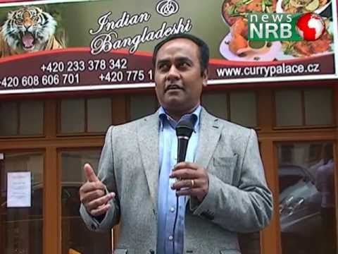 News NRB - Prague Czech Republic : Businessman Hassan Mamun speaking