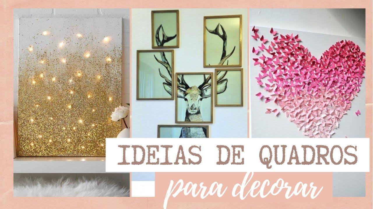 IDEIAS de QUADRO para decorar seu QUARTO - Eduardo Wizard