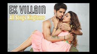 Ek Villain All Songs Ringtones | Ek Villain Background Music (BGM) | Sad Ringtones