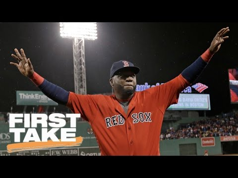 David Ortiz On Racism At Fenway Park | First Take | May 17, 2017