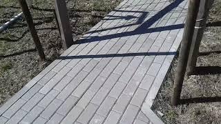 Тротуарная плитка спустя 2 года, обзор .