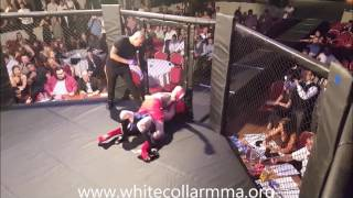 White Collar MMA Birmingham  fight 7