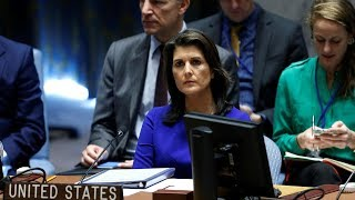 Nikki Haley: DPRK postponed meeting because 'they were not ready'