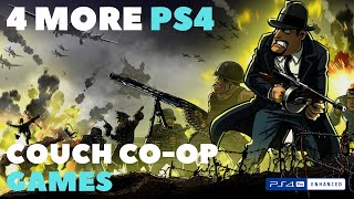 4 MORE PS4 Couch Co-op and Splitscreen Games