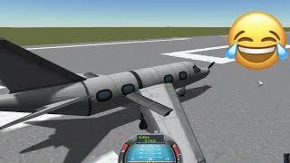 Building My Own Plane In Kerbal Space Program