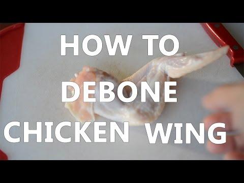 HOW TO DEBONE CHICKEN WING