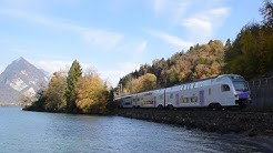 Bahnverkehr in Leissigen  - Eisenbahnen am Thunersee | Engler Rail