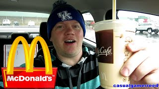 Reed Reviews McDonald's Vanilla Iced Coffee