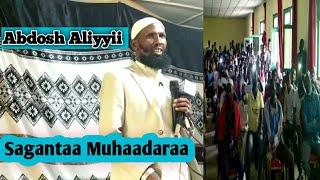 Download Lagu sagantaa Muhaadaraa[Abdoosh Aliyyii] Hararger Lixaa mp3