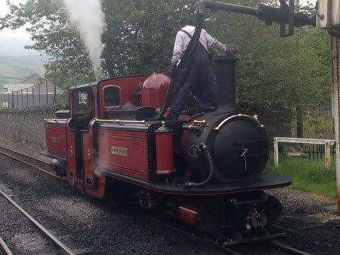 North Wales Narrow Gauge (2015) Day #2  - Blaenau Ffestiniog Railway to Porthmadog