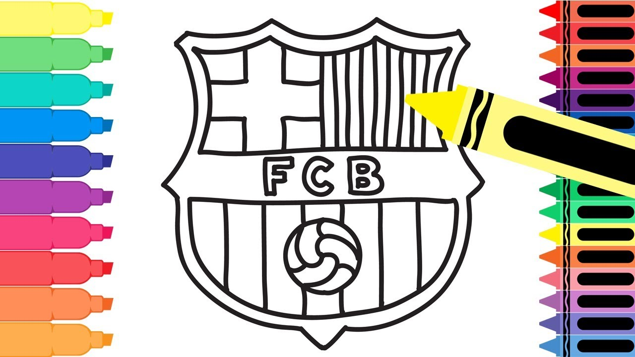 coloring pages barcelona fc fixtures - photo#11