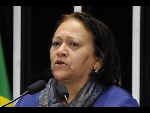 Fátima Bezerra diz que cobrou do ministro dos Transportes retomada de obras na BR 340