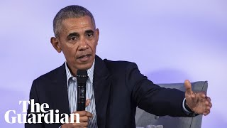 Barack Obama takes on 'woke' call-out culture: 'That's not activism'