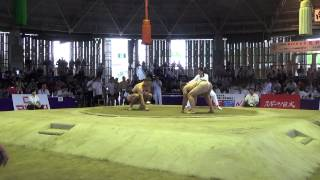 Чемпионат мира по Сумо 2015 г.Осака,Япония. ( Stiliyan Georgiev vs Aron Rozum )