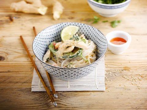 Alpro recipe – Coconut Courgette Thai Curry