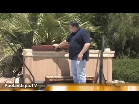 Hot Tub Cover Review - The New Prestige Deluxe Spa Cover - Poolandspa.TV