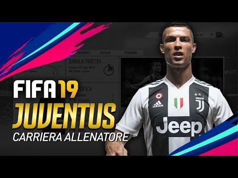 LA JUVENTUS su FIFA 19 | CARRIERA ALLENATORE [ITA]