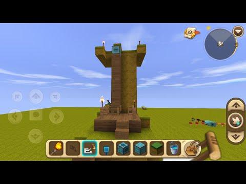 Mini world block art / Mecanismos (elevador, puente, molino y mas)
