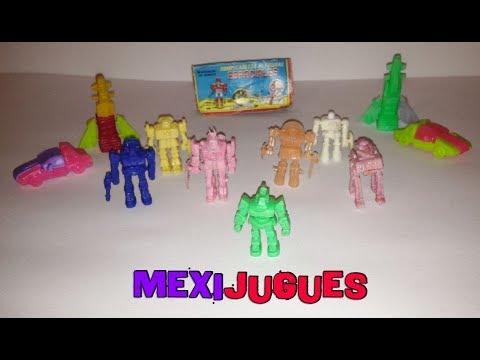 Rompecabezas De Figuras Espaciales Colección Completa - Mexi Jugues Retro