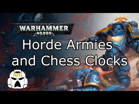 Horde Armies and Chess Clocks  **Should Horde armies get more time?**