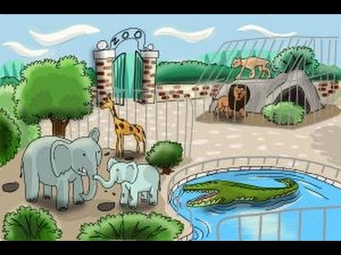 Image of: Cute How To Draw Zoo Youtube How To Draw Zoo Youtube