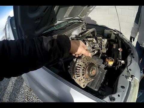 2003 Grand Am Fuse Box Suzuki Vitara Alternator Change Youtube