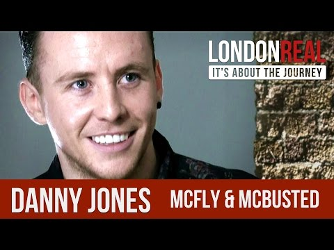 Danny Jones - McFly - McBusted - PART 1/2 | London Real