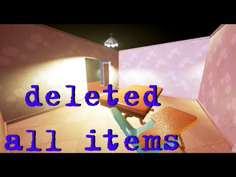 Hello Neighbor Alpha 1 баг удалил все предметы в игре thumbnail