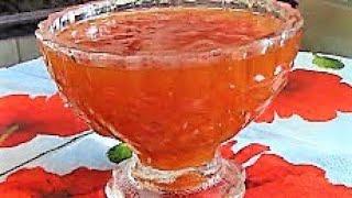 Абрикосовый джем ./Джем рецепт ./Рецепты из абрикосов ./Как приготовить абрикосовый джем .