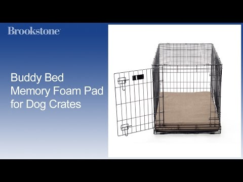 Buddy Bed Memory Foam Pad for Dog Crates