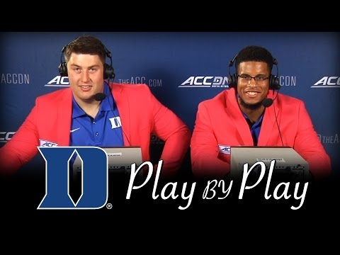 Duke Players Relive Greatest Catch in Duke History | ACCDN Play Call