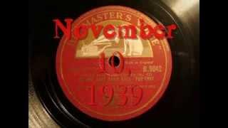 78rpm: At The Jazz Band Ball - Muggsy Spanier and his Ragtime Band, 1939 - English HMV B.9042