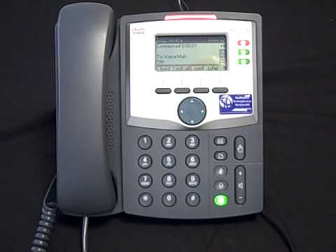 Cisco SPA 303 - Check Your Voicemail Messages