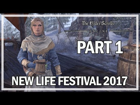 New Life Festival 2017 Event Part 1 - The Elder Scrolls Online Gameplay