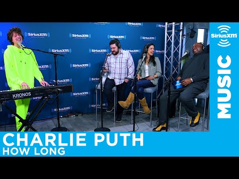 Charlie Puth performs his song How Long...