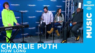 Charlie Puth performs his song How Long for The Morning Mash Up on SiriusXM Hits 1