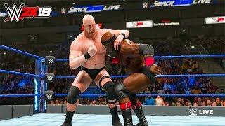 WWE 2K19 - Bobby Lashley vs Stone Cold Steve Austin Full Match - PC Gameplay