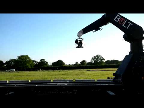 Bolt high speed Cinebot on track - Speed and Versatility at your fingertips