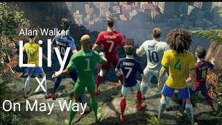 Download Nike football • Lily Alan Walker X On Mau Way • full edition