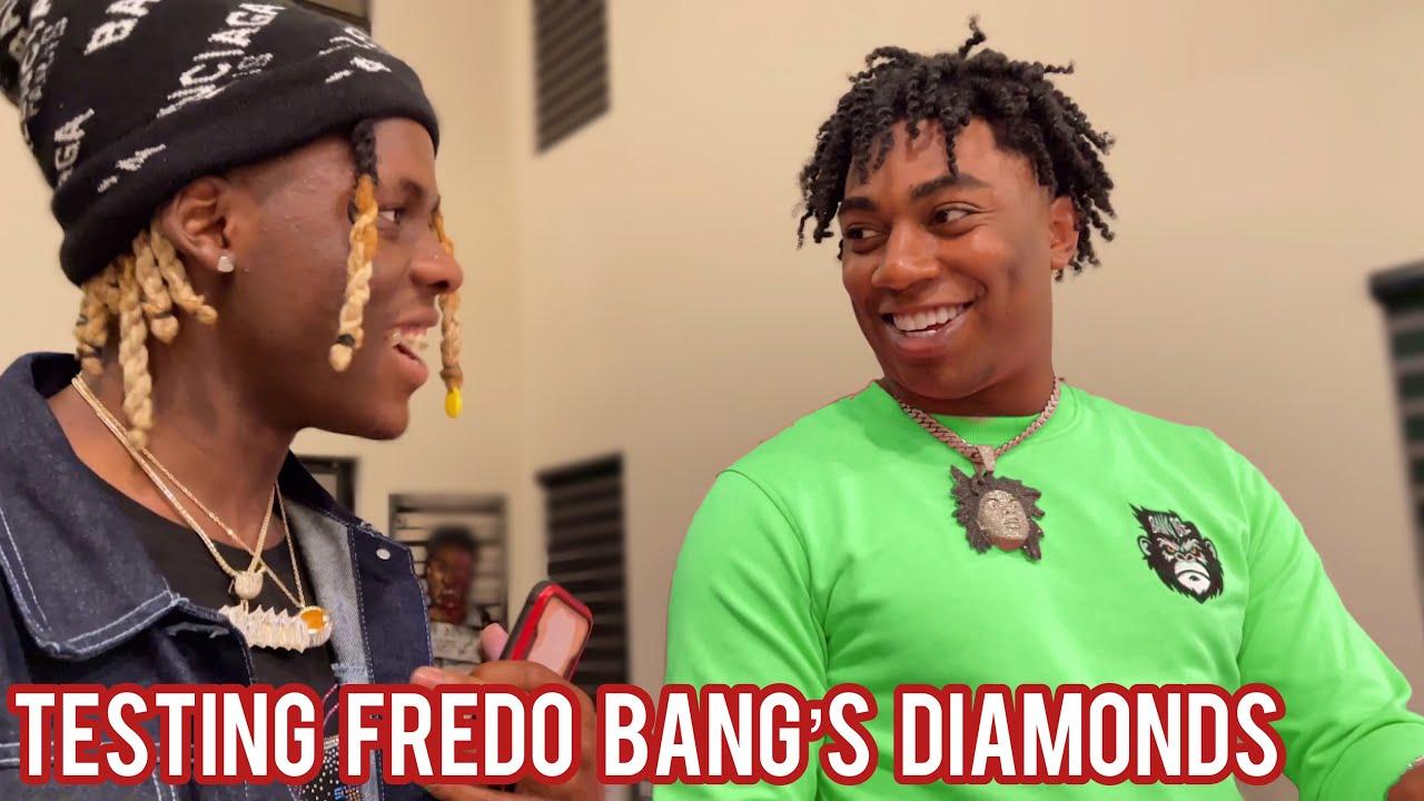 TESTING FREDO BANG'S DIAMONDS 😭💎+ Me & Deshae Frost go to six flags!