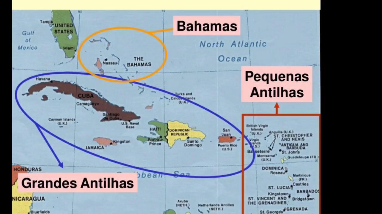América central continental e insular!! - YouTube