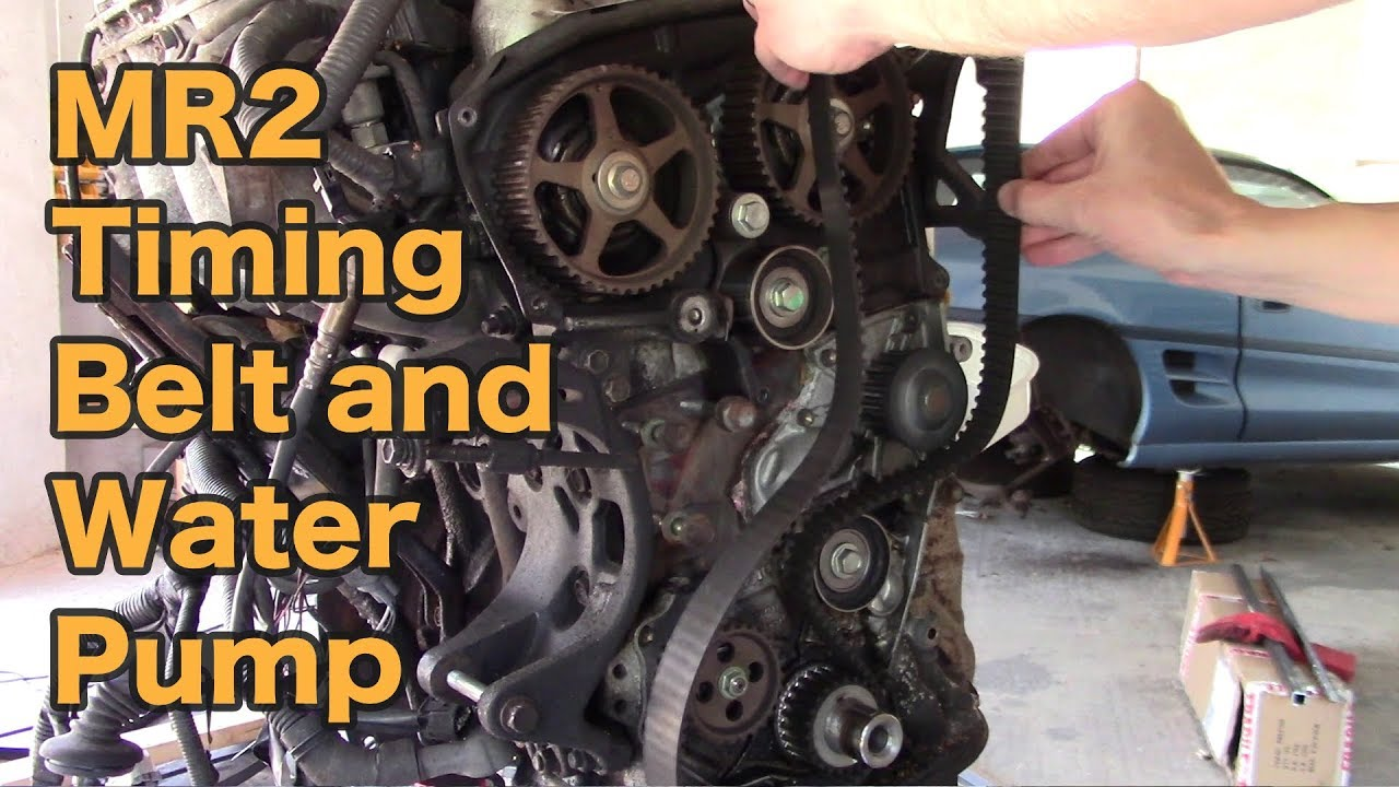 small resolution of toyota mr2 timing belt and water pump