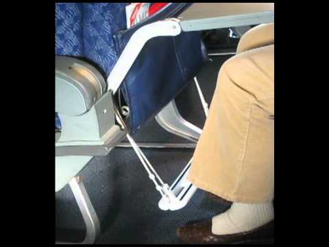 Happy Feet Airplane Footrest. A portable travel footrest for economy class airline passengers. - YouTube & Happy Feet Airplane Footrest. A portable travel footrest for ... islam-shia.org