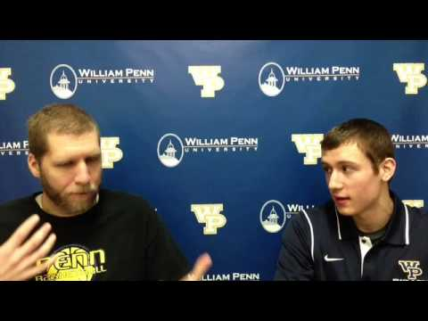 William Penn Athletics Alex Edwards Interview 2-6-15