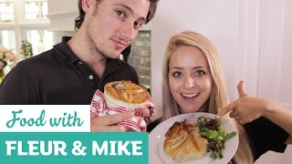 Pastry Special - Beef & Stout Pie And Veggie Filo Parcel | Fleur & Mike