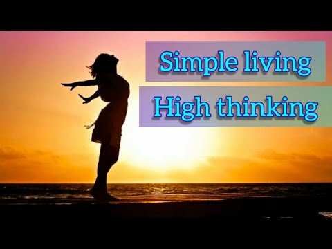 simple living essay