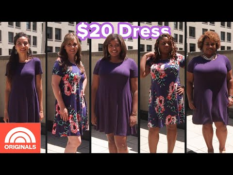 women-of-all-sizes-try-dress-with-2,000-perfect-reviews-|-today