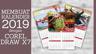 Gambar cover CARA MUDAH MEMBUAT KALENDER 2019 DENGAN CORELDRAW X7