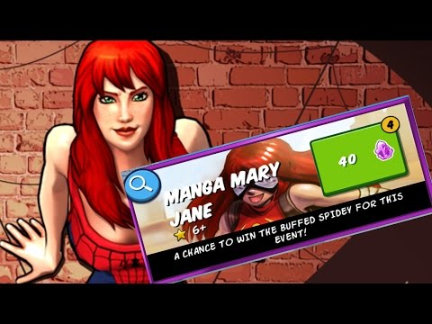 Spider-Man Unlimited - Mangaverse Mary Jane *Spider-Woman* Pack + Event